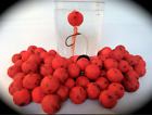 Bloodworm Flavour OOZE boilies pop ups Carp / Course fishing bait 14mm Boilie