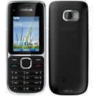 Nokia C Series C2-01 Black Gold Unlocked English Hebrew Thailand Keyboard Phone