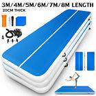 Airtrack Air Track Floor Home Inflatable Gymnastics Tumbling Mat GYM w/Pump