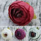 10Pcs Artificial Silk Rose Peony Flower Heads Bulk Craft Wedding Decor