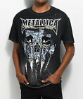 Metallica Skull Black T-Shirt Am I Who I Think I Am? NWT 100% Licensed & NEW image