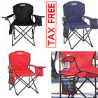 decathlon camping chair - Heavy Duty 350LB Oversized Camping Portable Folding Beach Chair Seat Cup Holder