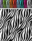 "ZEBRA 12"" ORACAL Adhesive Permanent *CHOOSE COLOR* Vinyl Digitally Printed"