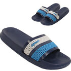 LADIES SUMMER SPORTS BEACH SLIDERS SLIP ON FLAT MULES FLIP FLOPS SANDALS SHOES