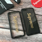 New Supreme Clear Glass Scratch-proof Hard Back Case Cover For iPhone X 7 8 Plus