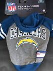 Los Angeles Chargers Official NFL Team hoodie dog fan T-shirt $6.00 USD on eBay