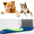 Dog Puppy Cat Flea Comb Trimmer Grooming Cleaning Hair Brush Shedding Tools GD