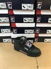 Mens Fila F13 Classic F 13 Mid High Top Basketball Sneakers Black white red