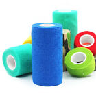 Pet Horse Dog Cat Vet Wound Elastic Cohesive Bandage Self Adherent Wrap Tape