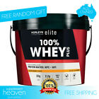 Horleys Elite 100% Whey Plus 2.5kg Protein Powder Muscle Recovery WPI WPC Casein