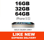 LIKE NEW iPhone 5s 16GB 32GB 64GB 4G Genuine and 100% Factory Unlocked MR