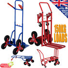 150KG Heavy Duty Stair Climbing Trolley Cargo Cart Hand Truck Sack Transformable