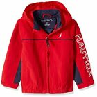 Nautica Baby Boys J Class Anchor Red Windbreaker Jacket