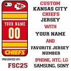 Kansas City Chiefs NFL Phone Case Cover for iPhone 7 PLUS iPhone 6s iPhone 5