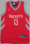 NEW James Harden #13 Houston Rockets Mens Adult Jersey, Red & Black, S-XXL