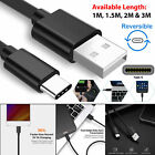 Usb C Cable Type Charger Fast 1m 2m Huawei P9 P10 P20 Keyring Phone Data Usbc Uk