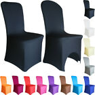 1-100 Chair Covers Spandex Lycra Slip Cover Wedding Party Dining Room Decor