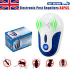 UK Ultrasonic Plug In Pest Repeller+Night Light Mice Rat Spider Mouse Insects