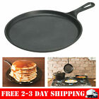 Lodge L9OG3 Pre-Seasoned Cast-Iron Round Griddle, 10.5-inch, New, Free Shipping