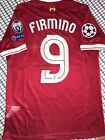 LIVERPOOL FIRMINO OFFICIAL CHAMPIONS LEAGUE jersey SIZE S, M, L or XL