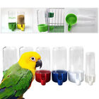 Pet Bird Feeder Automatic Seed & Water Feeder Hanging Cage Canary Cockatiel