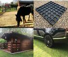 ECO FIELD SHELTER BASES Grass Gravel Grids Mats PADDOCKS Sheds Barns Greenhouses