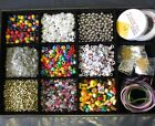 12 Large Dividers Storage Tray Only Craft Sewing DIY Beads Findings 350 x 230mm