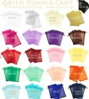"Внешний вид - 2""x3"" Sheer Drawstring Organza Bags Jewelry Pouches Wedding Party Favor Gift Bag"