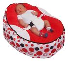 Pre-filled Baby Bean Bag with 2 Removable covers &amp; Safety Harness- UK Seller <br/> Comes pre-filled. Ready for immediately use.