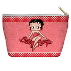 BETTY BOOP PAISLEY & POLKA DOTS LIGHTWEIGHT ACCESSORY POUCH $19.96 USD on eBay