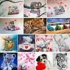 2018 Full Drill 5D Diamond Painting Cute Animals Crafts Kit Home Decor DIY