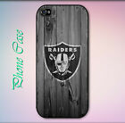 Oakland Raiders Wood Pictorial Case for iPhone $18.99 USD on eBay
