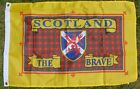 PRIDE SCOTLAND Flag Scottish Scots LGBT LGBTQ Gay Rights Lesbian Lion Rampant bn