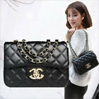 All-match Fashion Women Bag Diamond Chain Bag Cross Body Lock Catch Shoulder Bag