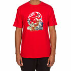 Billionaire Boys Club BB Surreal Stickball SS Tee in Chines Red NWT