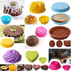 Large Silicone Cake Mold Pan Muffin Chocolate Pizza Pastry Baking Tray Mould cheap