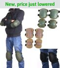 Adjustable Airsoft Tactical Rollerblade Protective Knee Elbow Pad Protector Gear