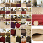 QUALITY EXTRA LARGE MEDIUM SMALL VISIONA SOFT CREAM BEIGE BROWN RED BLOCKS RUGS