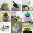 Flower Pot Silicone Molds DIY Garden Planter Cement Concrete Vase Soap Moulds image