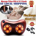 Pain Relax Pillow Cushion Massage Kneading Electric Neck Shoulder Foot Relax OR