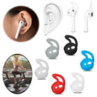 Soft Rubber Ear Hooks Earbud Holder For Apple AirPods Air Pod Sports Accessories