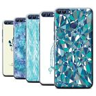 STUFF4 Phone Case/Back Cover for Huawei P Smart /Teal Fashion