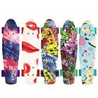 Rimable 22 Inch Penny Style Board Mini Cruiser Retro Skateboard Graffiti WT88 image