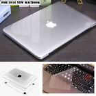 """Crystal Clear Case Keyboard Cover for 2016 Apple Macbook Pro 13"""" 15"""" A1706/A1708"""