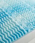 Foam Mattress Pad Cooling Gel Bed Topper Orthopedic Cover Twin Full Queen King image