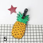 Tags Baggage Name Address Animal Cartoon Tag Fruits Labels Silica ID Holder