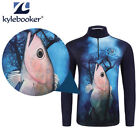 New style Long Sleeve Quick-dry Fishing Clothing Anti-mosquito Sunscreen Shirt