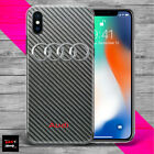 Audi 2 RS S style sport car THIN TPU plastic silicone case cover NEW iPhone X