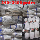 240 2400 pairs Dozens Wholesale Lots Mens Solid Sports Cotton Crew Socks Gift