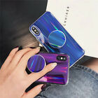 Creative Pop Up Holder Bracket sparkle soft case cover for iphone X 8 7 6S plus